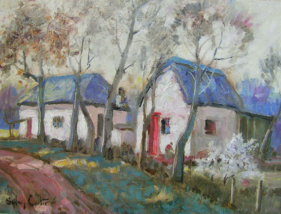 sydney carter, sydney carter painter, sydney carter for sale, sydney carter artist, sydney carter old master, crouse art gallery, art for sale, art gellery,