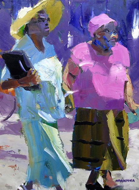 Makiwa art, makiwa fine art, fine art, zimbabwe art, colorful art, modern art, palette art, investment, master painter, makiwa mutomba,