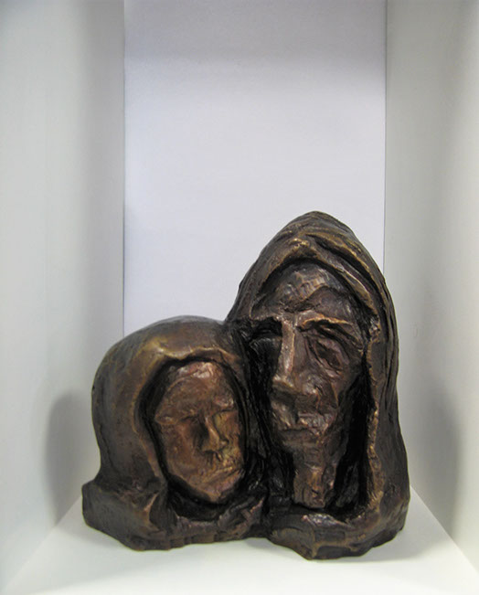 Frans Claerhout sculpture, buy online art, bronze art for sale, crouse art gallery