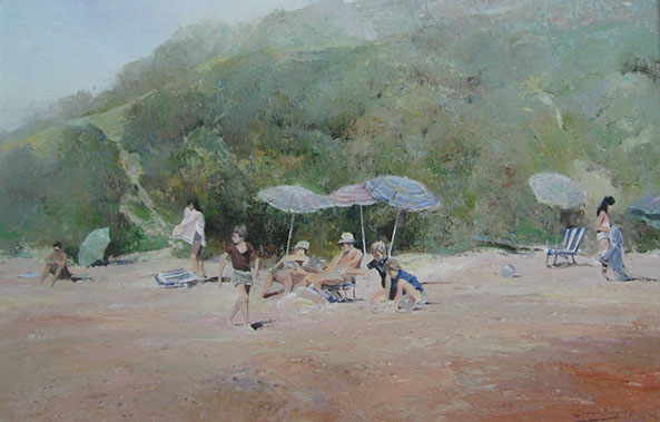 Errol boyley art, south african art , oil painting, crouse artdealers