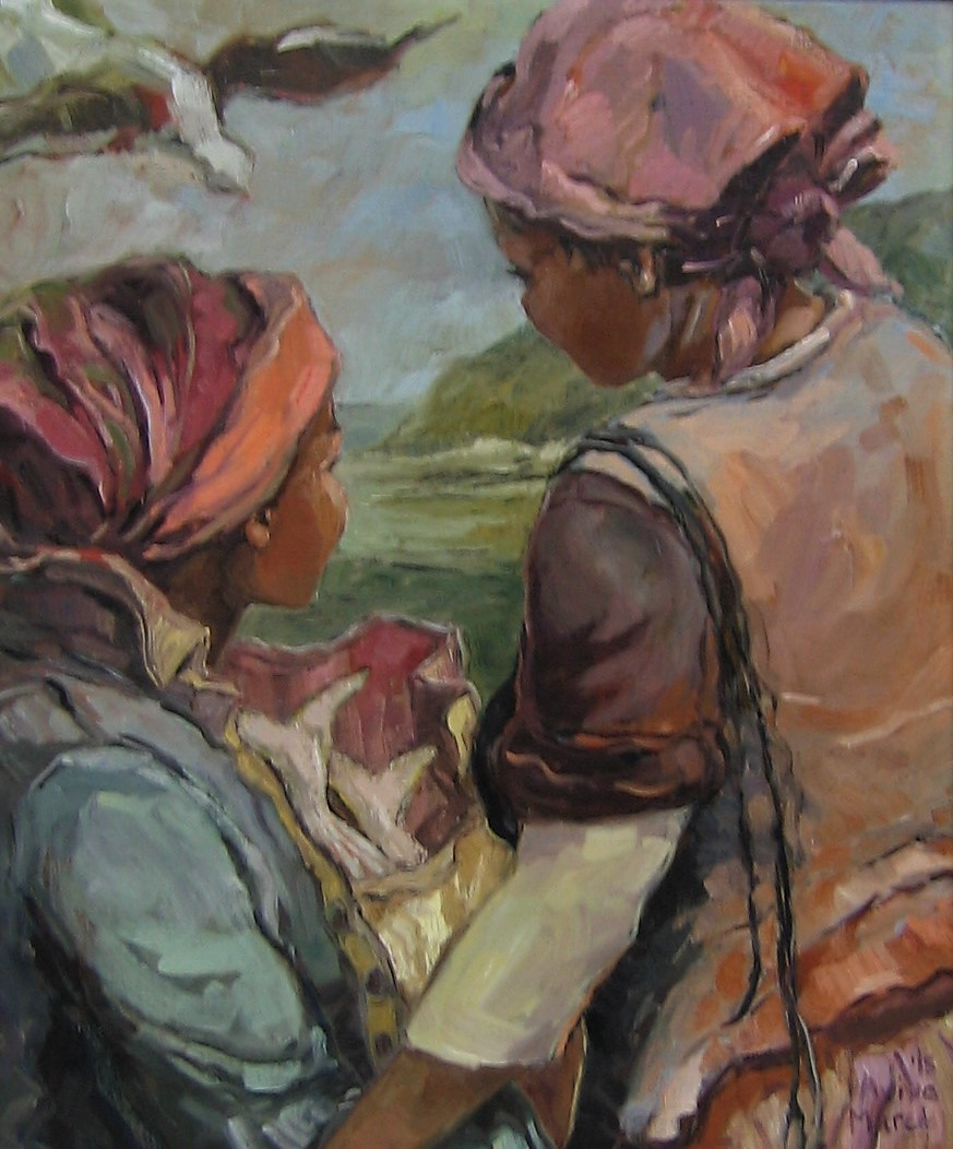 aviva maree, aviva maree art, aviva maree for sale, aviva maree oil, old masters for sale, crouse art gallery, art gallery