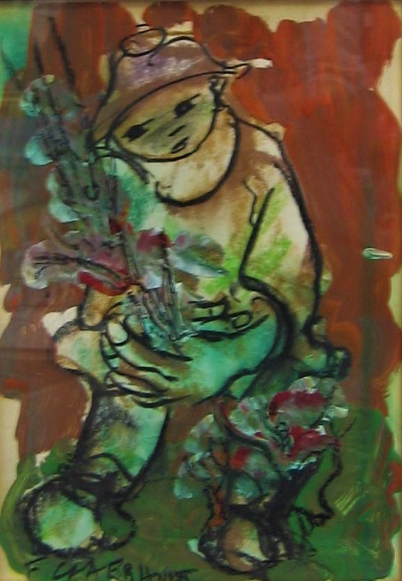 Frans Claerhout sculpture, buy online art, bronze art for sale, crouse art gallery