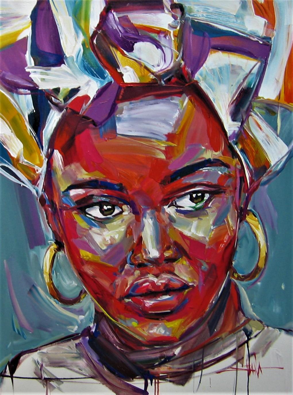 mind shana, mind shana art, mind shana for sale, mind shana oil, for sale, crouse art gallery, art gallery