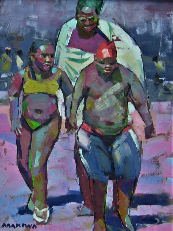 Makiwa art, makiwa fine art, fine art, zimbabwe art, colorful art, modern art, palette art, investment, master painter, makiwa mutomba,