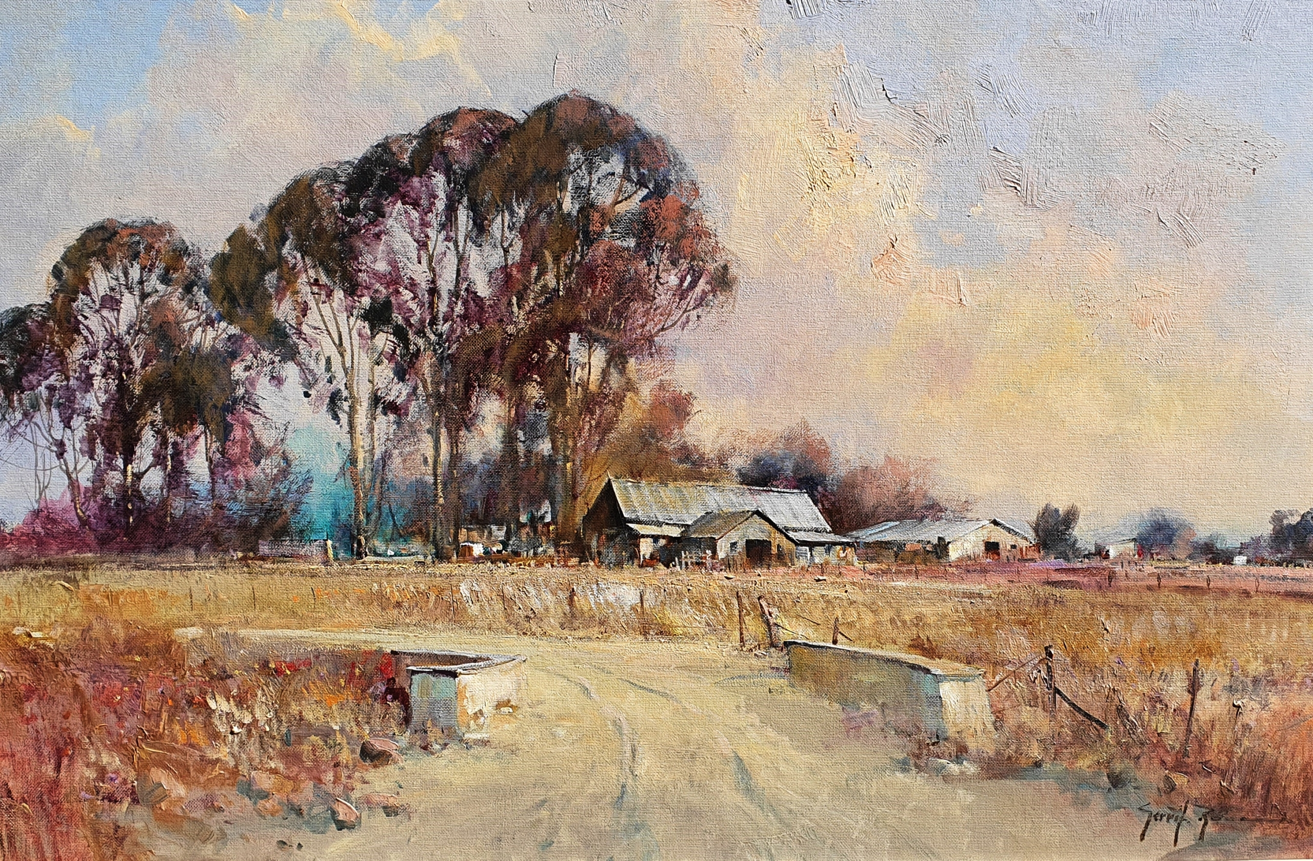 gerrit roon , south african art , oil paintings for sale , crouse artdealers