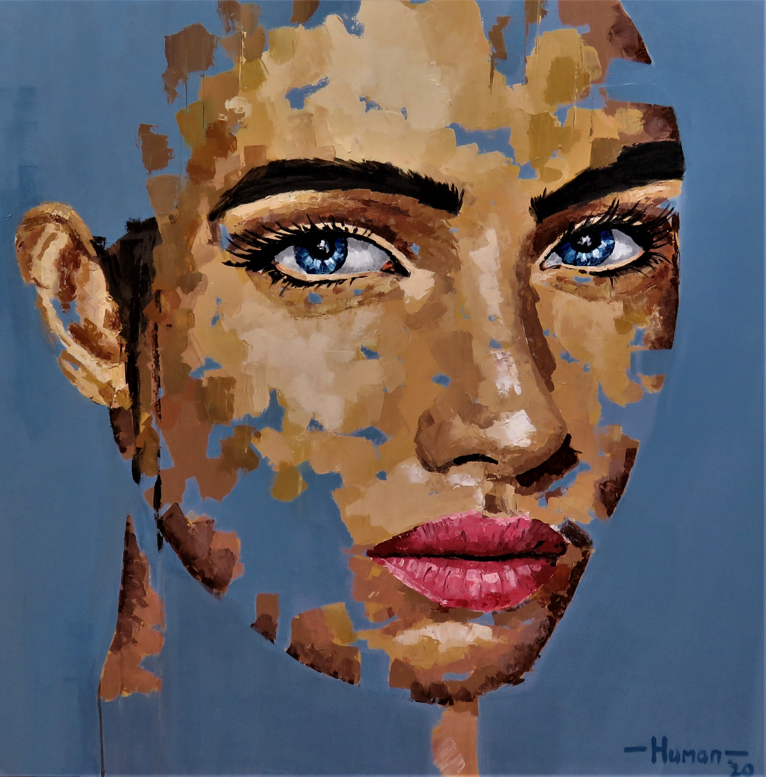 coenrad human, coenrad human art, coenrad human for sale, coenrad human acrylic, for sale, crouse art gallery, art gallery